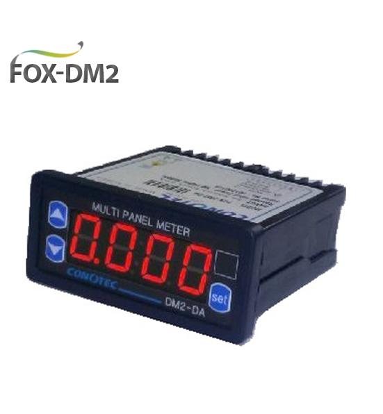 Multifunction Panel Meter : Conotec multi panel meter fox dm digital rms measurement